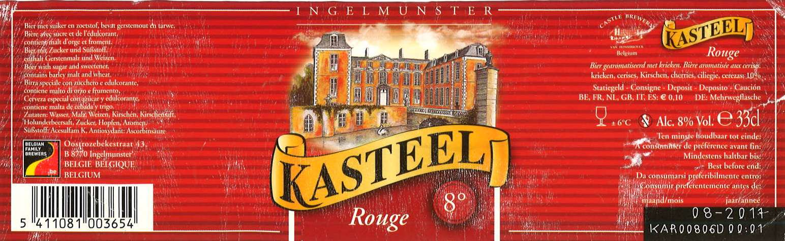 kasteelbier_rouge
